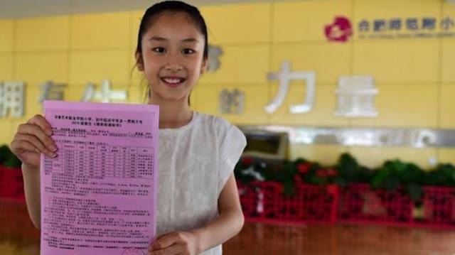 Anak Usia 12 Tahun Di China Berhasil Masuk Universitas