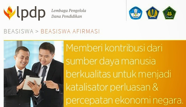 Sekilas Beasiswa Afirmasi LPDP