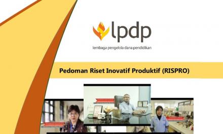 Beasiswa Riset Inovatif Produktif (RISPRO) LPDP
