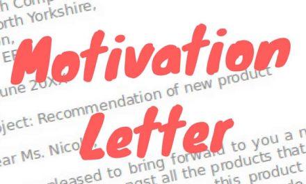 Trik Motivation Letter Agar Lolos Seleksi Beasiswa