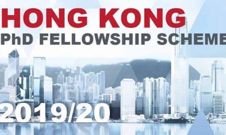 Beasiswa S3 dari Research Grants Council, Hong Kong