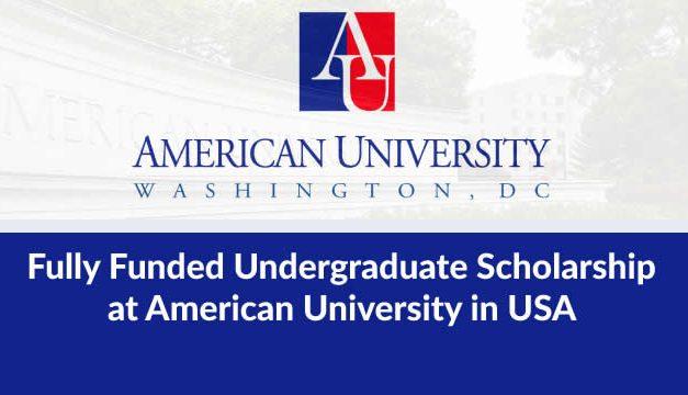 Beasiswa S1 Amerika Serikat American University (AU Emerging Global Leader Scholarship)