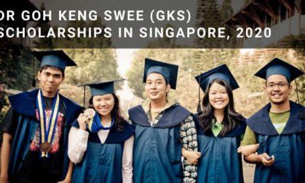 Beasiswa S1 Singapura – Dr Goh Keng Swee – GKS Scholarship