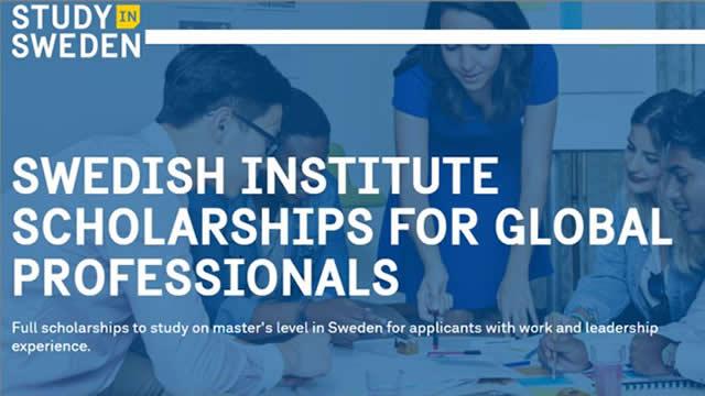 Beasiswa S2 Swedia – Swedish Institute Scholarships for Global Professionals (SISGP)