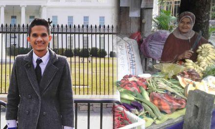 Setelah 53 Kali Gagal, Anak Pedagang Sayur Dapat Beasiswa di Amerika
