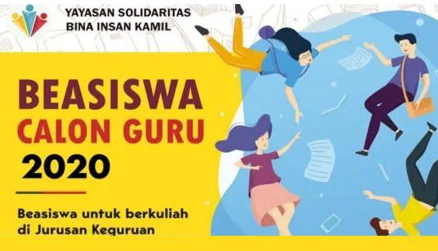 Beasiswa Keguruan Yasbil 2020 (BKY) – S1 di UI, UPI, dan UIN Jakarta-Bandung