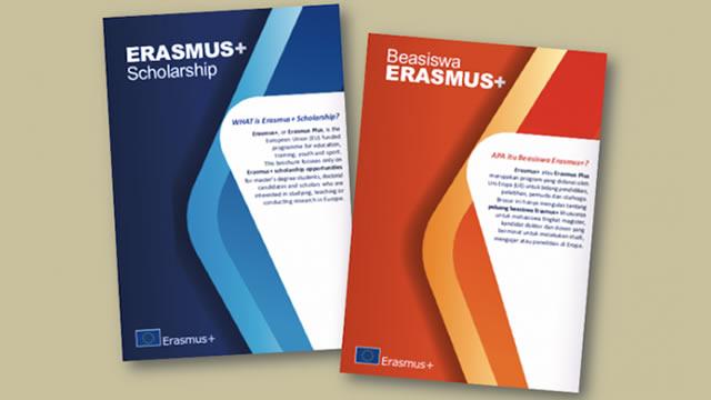 Beasiswa Penuh S2 di Uni Eropa – Beasiswa Erasmus Plus