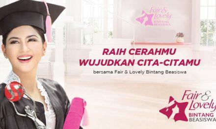 Beasiswa S1 Khusus Wanita – Fair and Lovely Bintang Beasiswa 2020