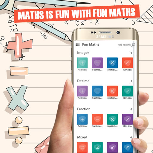 [ANDROID APP] Fun Maths – Gamification Maths