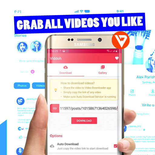 Viddoh – Video Downloader for Facebook, Instagram and TikTok