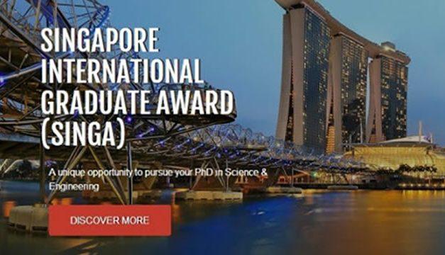 Beasiswa S3 Singapura 2021 (SINGA) Full di NTU, NUS, dan SUTD