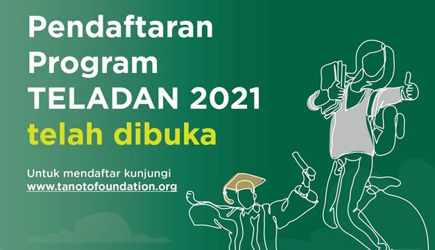 Beasiswa S1 Tanoto Foundation 2021